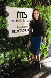 Michelle Bridges and Blackmores have launched a dietary supplements range