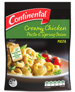 Unilever has introduced a new 'Continental' gourmet instant pasta and rice range in Australia.