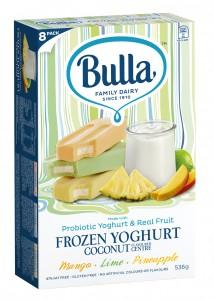 Bulla launches coconut flavoured frozen yoghurt in Australia