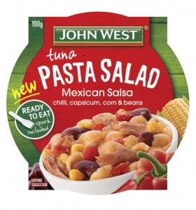 Simplot launches new John West Tuna Pasta Salad in Australia
