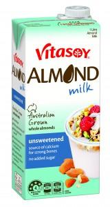 3D UHT 1L Vitasoy Almond Milk unsweet DLib