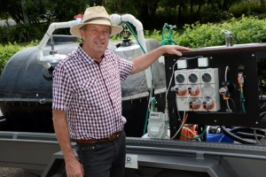 Brisbane inventor turns food factory waste into free fuel