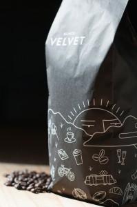 Black Velvet Night Swimming coffee beans