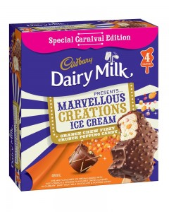 Cadbury and Bulla launch new 'carnival' ice cream flavours