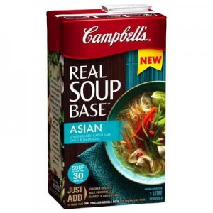 Campbell's has expanded its Australian range announcing a new line of soup bases.