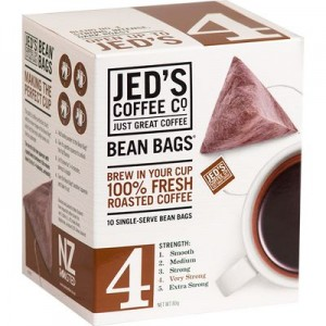 A new coffee 'bean bag' has been introduced to the Australian market.