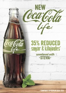 Coca-Cola Life sweetened with stevia to launch in Australia and NZ in 2015