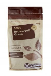 Coles launches new own-brand 'super grain' teff
