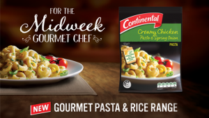 Continental launches new gourmet rice and pasta range