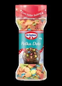 Dr Oetker Sprinkles - Polka Dots (002)