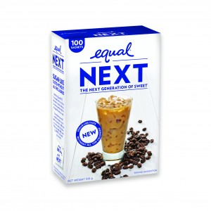 Sweetener manufacturer Equal has release two new products, 'Equal Spoonful' and 'Equal NEXT'.