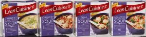 Lean Cuisine has launched a range of Asian soups