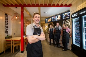 KFC Australia's brand new 'Australian-first' concept store