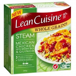 Simplot Australia is launching a new Lean Cuisine whole grains range into Australian supermarkets.