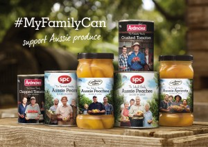 SPC rolls out fruit products with real families on the cans