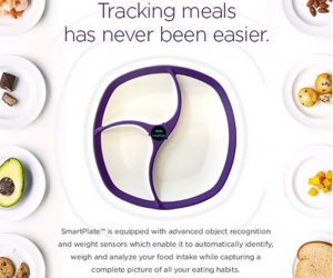 Calorie counting could soon be elevated to another level with a US startup introducing a plate which can figure out nutritional information.