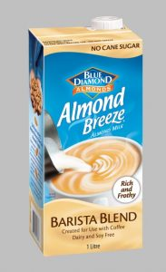 Almond milk producers launch new barista-formulated almond milk launched for cafes