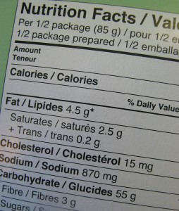 Government seeking to 'simplify' Australia's food nutrition labels