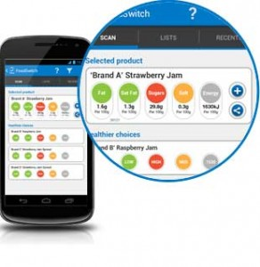 'FoodSwitch' app adds extra features on sugar, energy and fat
