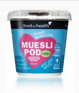 Food for Health launches Muesli Pod on-the-go breakfast range