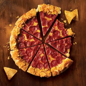 Pizza Hut and Doritos launch crunchy stuffed crust pizza