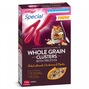 Special K launches Whole Grain Clusters in Australia