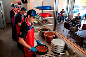 Domino's Pizza announces 'solid' first quarter sales results